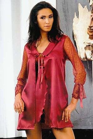 Халат, коротенькая сорочка и трусики стринг Andra, Италия 1873_1877 фото