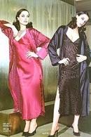 Сорочка и полупрозрачный халатик