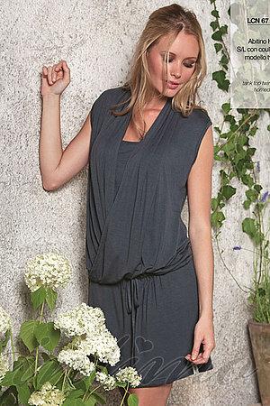 Домашнее платье, вискоза Infiore, Италия 7601 фото