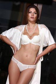 Kit: push up bra and panties Brazilian
