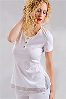 Пижама женская, хлопок Di Benedetto, Италия 3808 фото