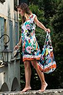 Платье, хлопок Roby-zu, Италия AC1037 фото