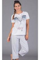 Пижама женская, хлопок Doremi, Италия 10413 фото