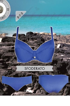 Купальник с мягкой чашкой, плавки слип Lormar, Италия Sfoderato-SlipAlto фото