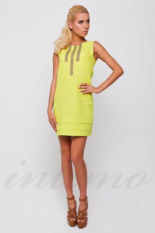 48aee6e0ac2f28 Сукня, льон Nenka N173, 35369 - купити за вигідними цінами в Києві ...