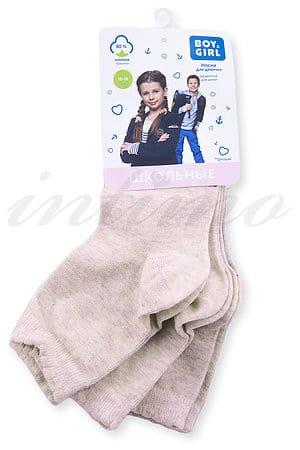 Набор: носки для девочек, хлопок 3шт Boy & Girl, Украина G046 фото