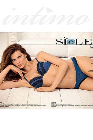 Комплект: бюстгальтер push up gel и трусики бразилиана Si e Lei, Италия 5666-5663 фото
