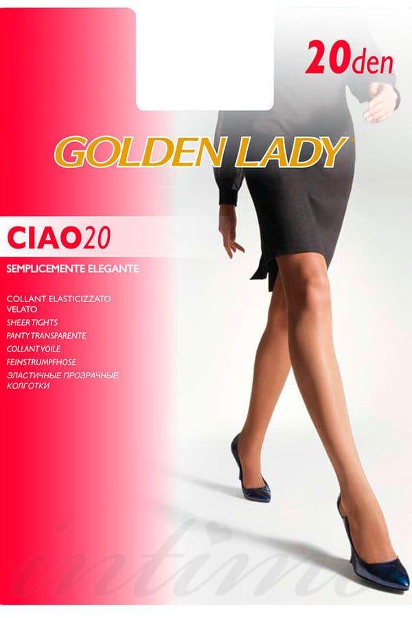 Колготки Golden Lady Ciao размер 3 плотность 15 Den Nero