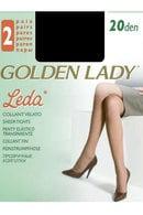 Колготки 2 шт, 20 den Golden Lady, Италия Leda-20 фото