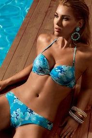 Swimsuit double push up, melting Brazilian