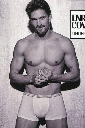 Трусы мужские boxer, хлопок Enrico Coveri, Италия EB1001 фото