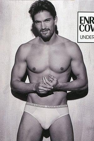 Трусы мужские слип, хлопок Enrico Coveri, Италия ES1001 фото