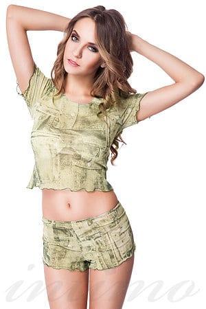 Комплект: футболка и шортики Novella, Латвия N5843-5844 фото