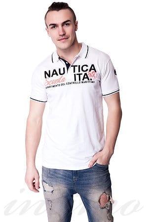 Поло, хлопок Scuola nautica italiana, Италия 518821 фото