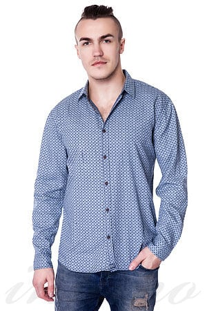 Рубашка, хлопок Denim & Vintage, Италия 543111 фото