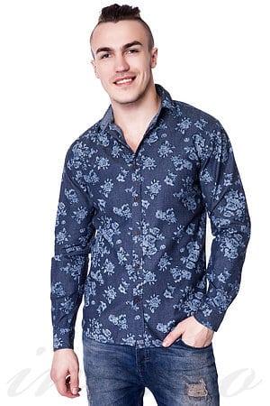 Рубашка, хлопок Denim & Vintage, Италия 543106 фото