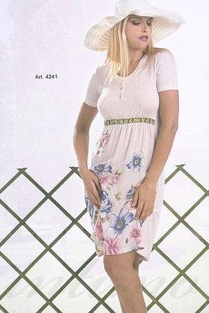 Домашнее платье, хлопок Di Benedetto, Италия 4241 фото