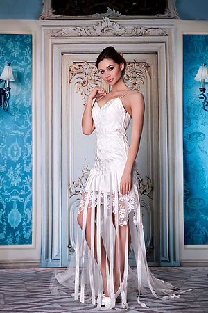 Свадебное платье Herve Mariage, Франция Caroline фото