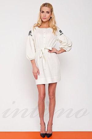 Товар с дефектом: платье, лён Nenka, Украина N155 фото