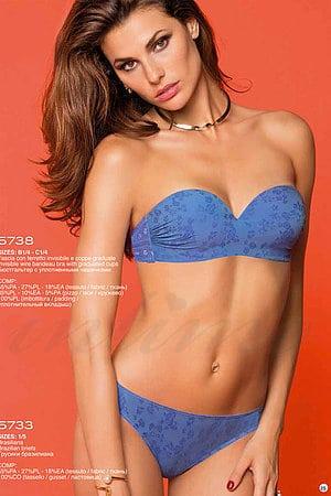 Комплект белья: бюстгальтер push up и трусики бразилиана Si e Lei, Италия 5738-5733 фото