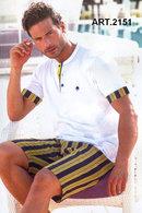 Комплект: Футболка и шорты, хлопок Denny's, Италия 2151 фото