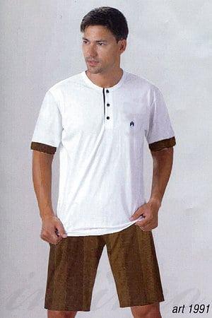 Набор: футболка и шорты, хлопок Denny's, Италия 1991 фото
