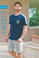Домашний костюм, хлопок Lancetti, Италия LB3001 фото
