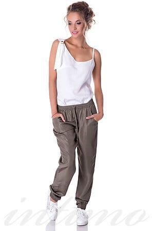 Товар с дефектом: брюки, шёлк MET, Италия S074-1/Б фото