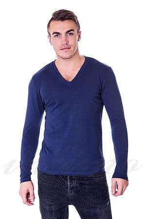 Пуловер, хлопок Gasoline-Blu, Италия 6215 фото