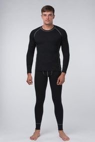 Set male thermal underwear, viscose-wool