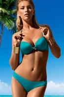 Товар с дефектом: купальник двойной push up gel, плавки бразилиана Lormar, Италия Double-brasiliana/З фото