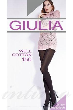 Колготки, 150 den, хлопок Giulia, Украина Well-cotton-150 фото