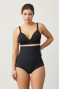 Corrective panties slip with mesh