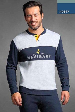 Домашний костюм, хлопок Navigare, Италия 140697 фото
