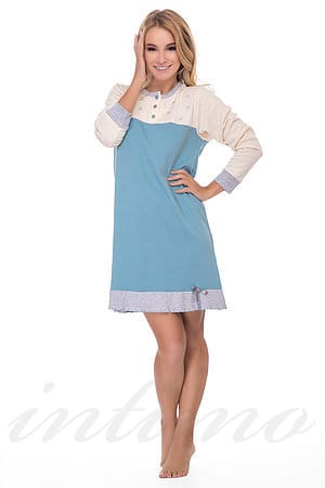 Домашнее платье, хлопок Snelly, Италия 64819 фото