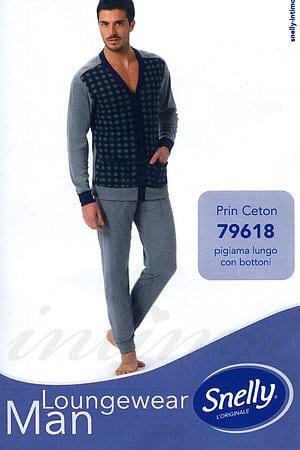 Домашний костюм, хлопок Snelly, Италия 79618 фото