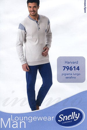 Домашний костюм, хлопок Snelly, Италия 79614 фото