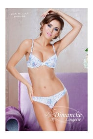 Set underwear: bra and panties Brazilian gel