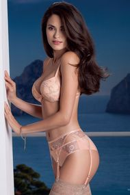 Complete set of lingerie: bra push up and panties brazilian