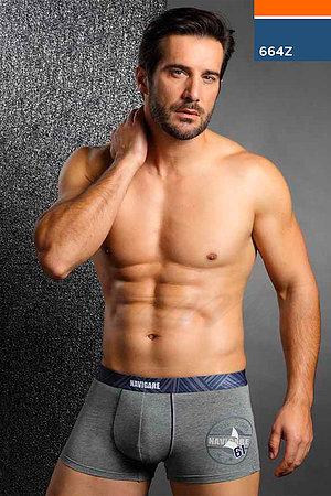 Трусы мужские boxer, хлопок Navigare, Италия 664Z фото