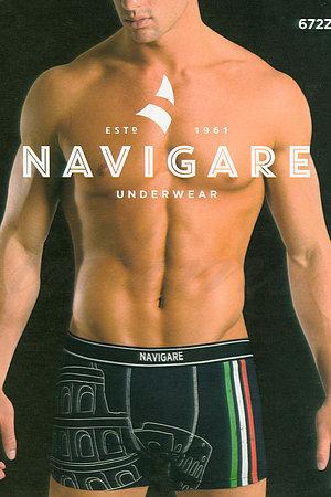 Трусы мужские boxer, хлопок Navigare, Италия 672Z фото