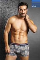 Трусы мужские boxer, хлопок Navigare, Италия 674Z фото