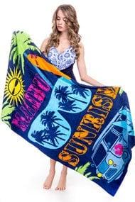Beach towel, cotton
