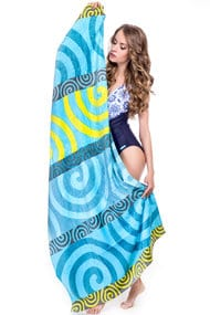 Beach towels, cotton