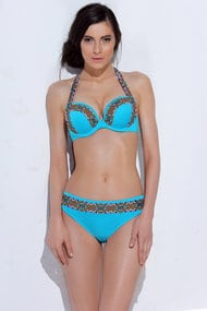Swimsuit with sealed cup, melting slip (Swimwear)