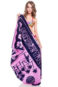Рушник пляжний, бавовна