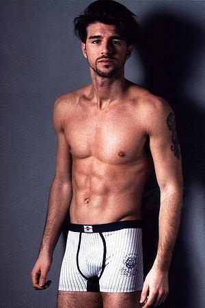 Трусы мужские boxer, хлопок Gasoline-Blu, Италия U5228F фото