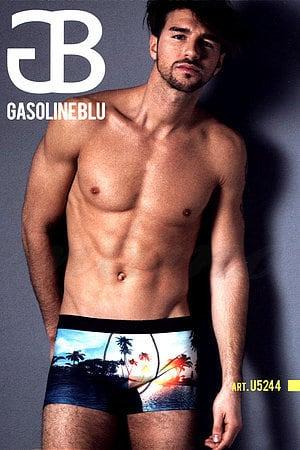 Трусы мужские boxer, хлопок Gasoline-Blu, Италия U5244F фото