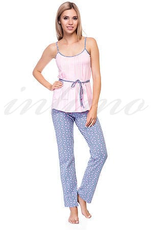 Пижама, хлопок Sambario, Украина Mila-3101-7501 фото