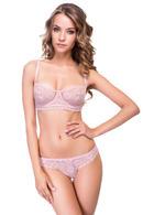 Комплект белья: бюстгальтер с мягкой чашкой и трусики бразилиана Intimo lingerie, Украина Luna  фото